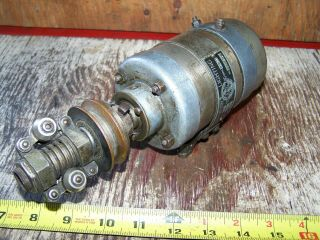Old Abg Belt Driven 6v Generator Antique Motorcycle Harley Indian Pope Thor