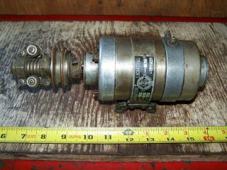 Old ABG Belt Driven 6V Generator Antique Motorcycle Harley Indian Pope Thor 2
