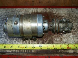 Old ABG Belt Driven 6V Generator Antique Motorcycle Harley Indian Pope Thor 6