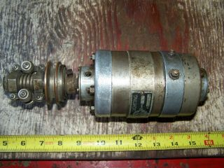 Old ABG Belt Driven 6V Generator Antique Motorcycle Harley Indian Pope Thor 9