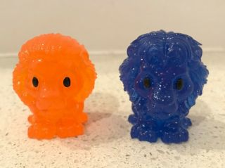 Woolworths Lion King Ooshie Rare Blue Mufasa And Orange Simba Collectables