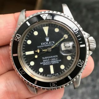 "1974 Vintage Rolex Submariner Ref.  1680 "" Project Watch """