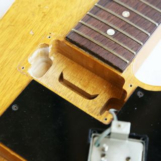 1958 GIBSON FUTURA VINTAGE KORINA EXPLORER PROTOTYPE ELECTRIC GUITAR with PAFS 9