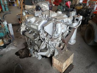 Detroit Diesel 6v53t Silver Turbo Engine Runs Exc Video Rare 275 Hp 6v53 V6