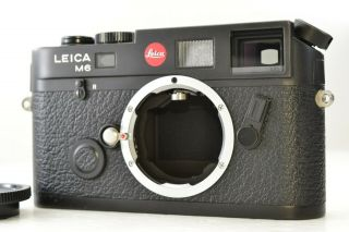 Rare - Japan Model Leica M6 Black 0.  85 Ttl 35mm Rangefinder Camera 2262