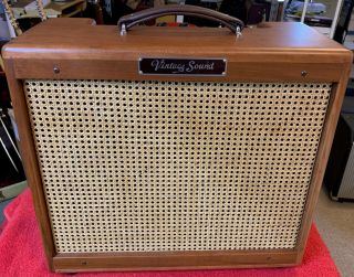 Vintage Sound Amps,  Tweed 15 W/ 5 Year Limited.