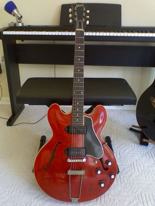 Vintage 1960 Gibson Es 330 Tdc Hollowbody Electric Guitar