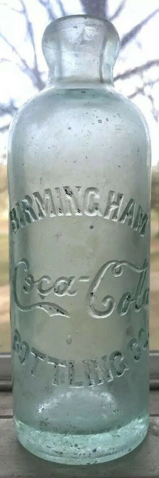 Extremely Rare Birmingham Alabama Coca Cola Hutchinson Bottle Ala Al Coke Hutch