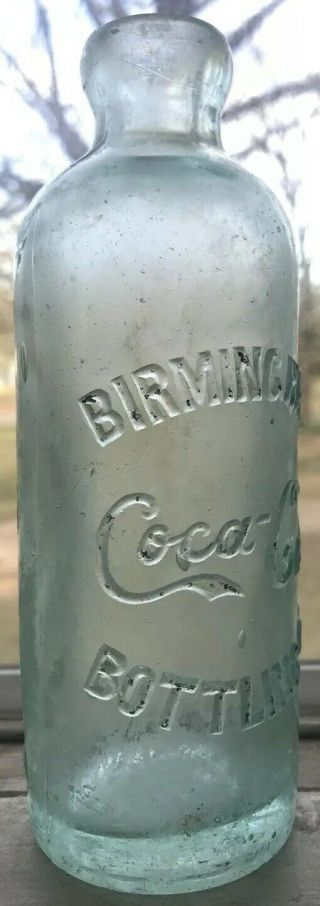 Extremely Rare Birmingham Alabama Coca Cola Hutchinson Bottle Ala Al Coke Hutch 2