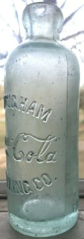 Extremely Rare Birmingham Alabama Coca Cola Hutchinson Bottle Ala Al Coke Hutch 3