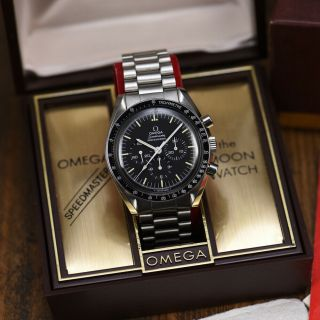 Vintage 1975 Omega Speedmaster Professional Watch 145.  022 - 74 Box & Papers