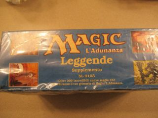 1994 Legends (Italian) Booster Box (MTG) Factory Rare 2