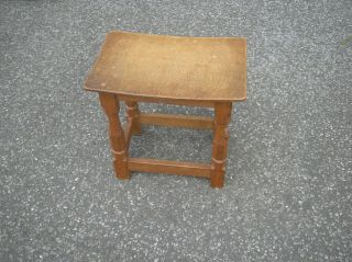 Robert Thompson Mouseman Oak Stool