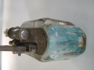 Rare Large Old Dunhill Aquarium Table Lighter Made in England Circa 1950s 10