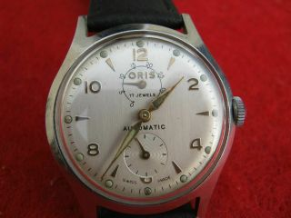 Oris Automatic Men Watch Power Reserve,  Rare To Find 1st Oris Automatic Watch