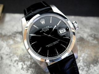 Stunning 1979 Rolex Oyster Perpetual Date Gents Vintage Watch