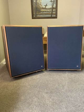 Rare James B.  Lansing Jbl L200 L - 200 Studio Masters.  Back To Back Serial Numbers