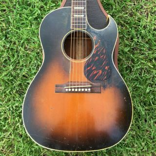 1950 Gibson Cf - 100 Cutaway Lg - 2 Sized Acoustic Guitar,  Neck Reset & Vintage Case