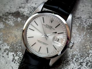 Just 1966 Rolex Oyster Perpetual Date Gents Vintage Watch