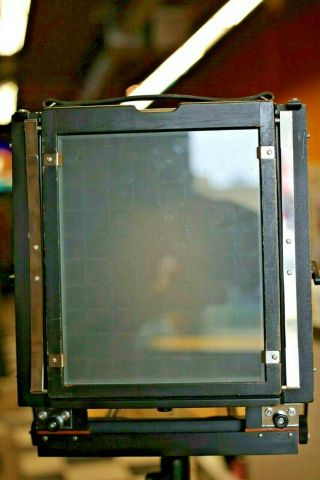 R.  H.  Philips & Sons 8x10 Compact View Camera RARE - Lightweight 8x10 field came 8
