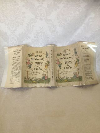 "RARE ""WHEN WE WERE VERY YOUNG"" 1st AM.  INSCRIBED AND DATED 1924 BY A.  A.  MILNE 11"