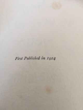 "RARE ""WHEN WE WERE VERY YOUNG"" 1st AM.  INSCRIBED AND DATED 1924 BY A.  A.  MILNE 9"
