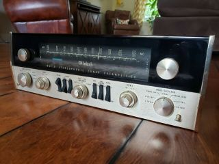 Vintage McIntosh MC - 240 Tube Stereo Amplifier & MX110 Tuner Preamplifier / 3