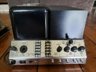 Vintage McIntosh MC - 240 Tube Stereo Amplifier & MX110 Tuner Preamplifier / 6