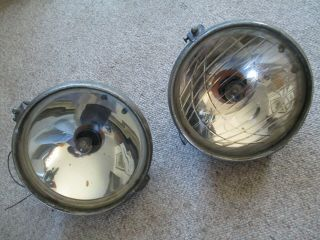 Carl Zeiss Jena - Combination Head / Fog Lights.  - Extremely Rare And Unusual.