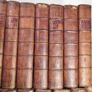 AMERICAN REVOLUTION 1758 to 1780/RARE 1st,  EARLY Ed.  /24 VOLUMES FINE LEATHER VOLS 10
