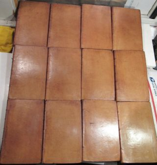 American Revolution 1758 To 1780/rare 1st,  Early Ed.  /24 Volumes Fine Leather Vols