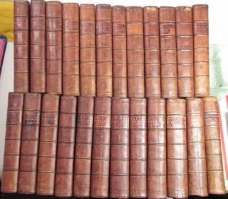 AMERICAN REVOLUTION 1758 to 1780/RARE 1st,  EARLY Ed.  /24 VOLUMES FINE LEATHER VOLS 3