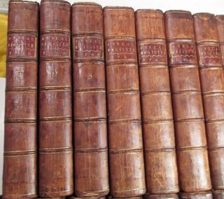 AMERICAN REVOLUTION 1758 to 1780/RARE 1st,  EARLY Ed.  /24 VOLUMES FINE LEATHER VOLS 9