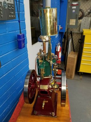 Rare Perkins Model Hit and Miss Gas Engine 2