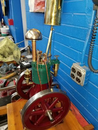 Rare Perkins Model Hit and Miss Gas Engine 3