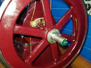 Rare Perkins Model Hit and Miss Gas Engine 4
