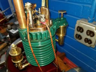 Rare Perkins Model Hit and Miss Gas Engine 5