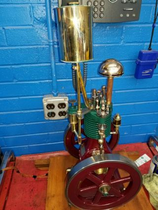 Rare Perkins Model Hit and Miss Gas Engine 6