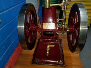 Rare Perkins Model Hit and Miss Gas Engine 7
