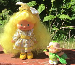 Vintage Tulip Berrykin Doll And Critter