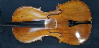 Vintage 1931 Italian 4/4 Cello Labeled By Enrico Piretti