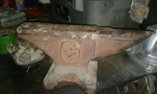 Vulcan Anvil 85 Lb Vintage Antique