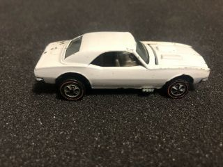 Rare Hot Wheels Redlines White Enamel Custom Camaro Holy Grail