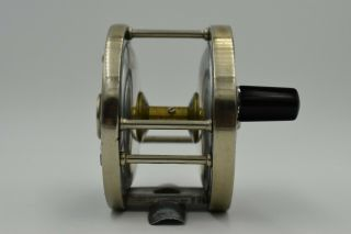 Rare Edward Vom Hofe Tobique size 1/0 Fly Fishing Reel vom Hofe Reel Model 504 7