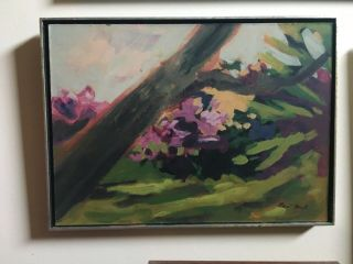 Robert Dash Rare Oil Painting Landscape East Hampton