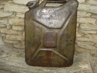 Jerry Can Mns 1943 Ww Ii German