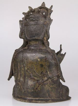 Antique Chinese Bronze Buddha Statue Ming Dynasty 16th 17th C. 5