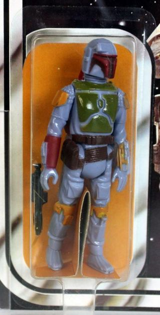 Vintage Kenner Star Wars 21 Back - B Boba Fett AFA 85 (85/85/85) 3