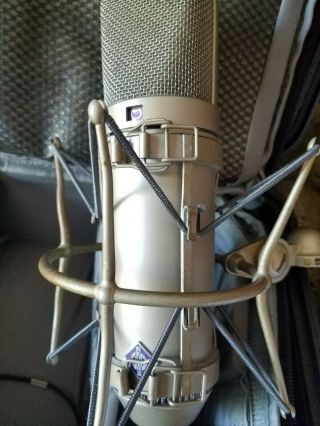 Neumann U87 Vintage Condenser Microphone With Shock Mount & Case