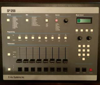 E - Mu Sp 1200 Vintage Drum Machine.  Priced To Sell.  Rare Sounds On Boot Disk.